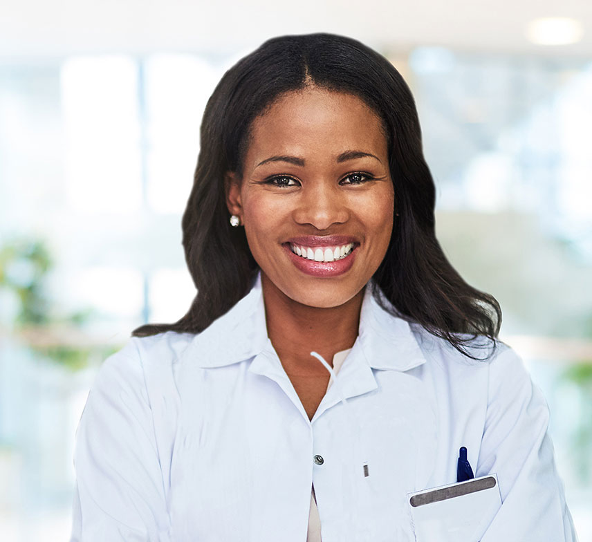 a female dermatologist looking for a job recruiter to advance her career